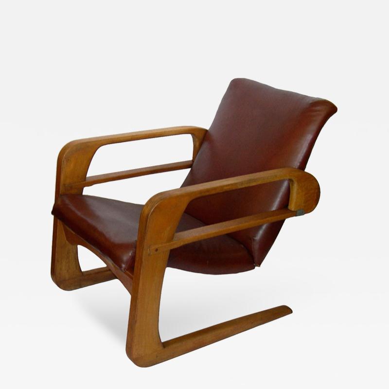 Kem Weber Iconic Original Airline Chair by KEM Weber