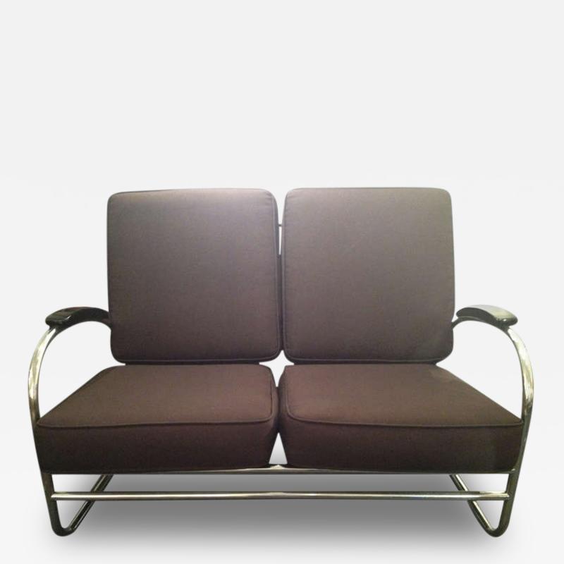 Kem Weber Kem Weber for Lloyd Art Deco Love Seat