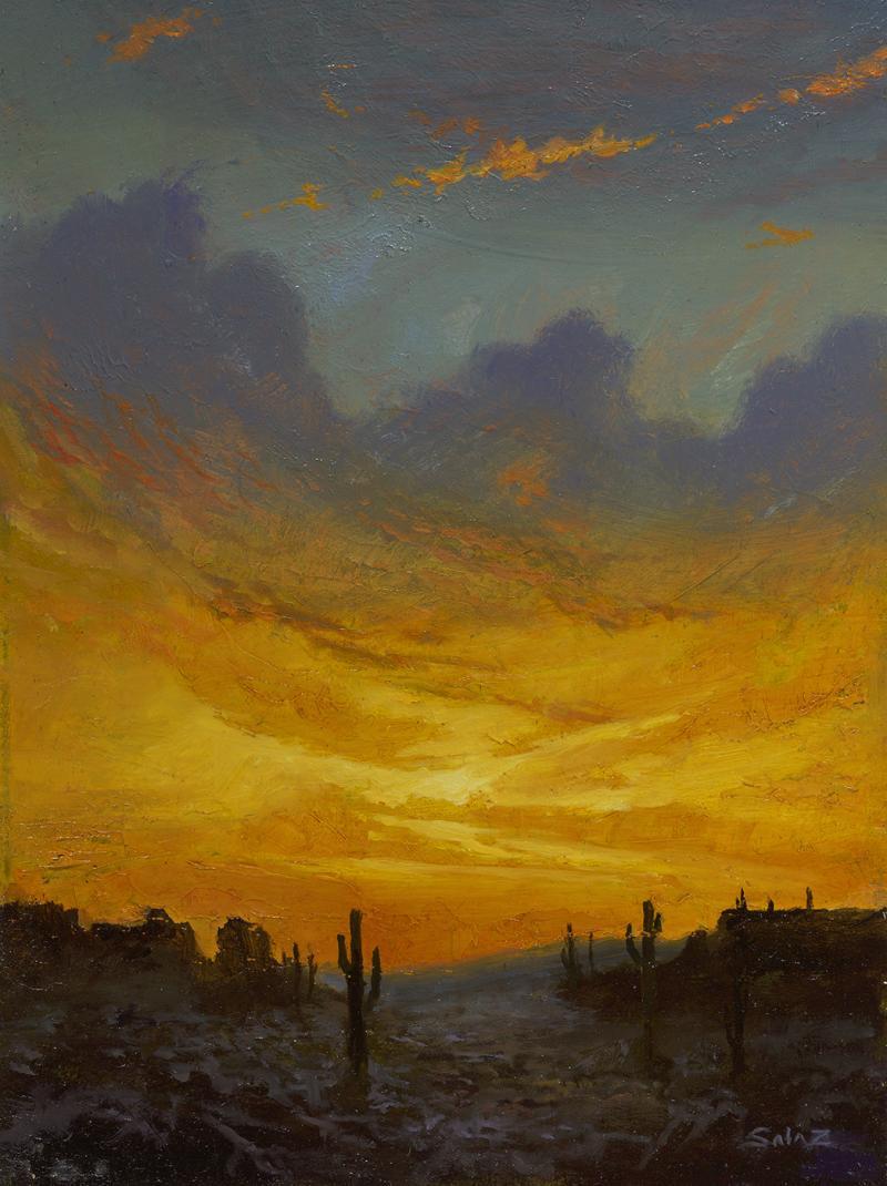 Ken Salaz Arizona Brilliance Sunset
