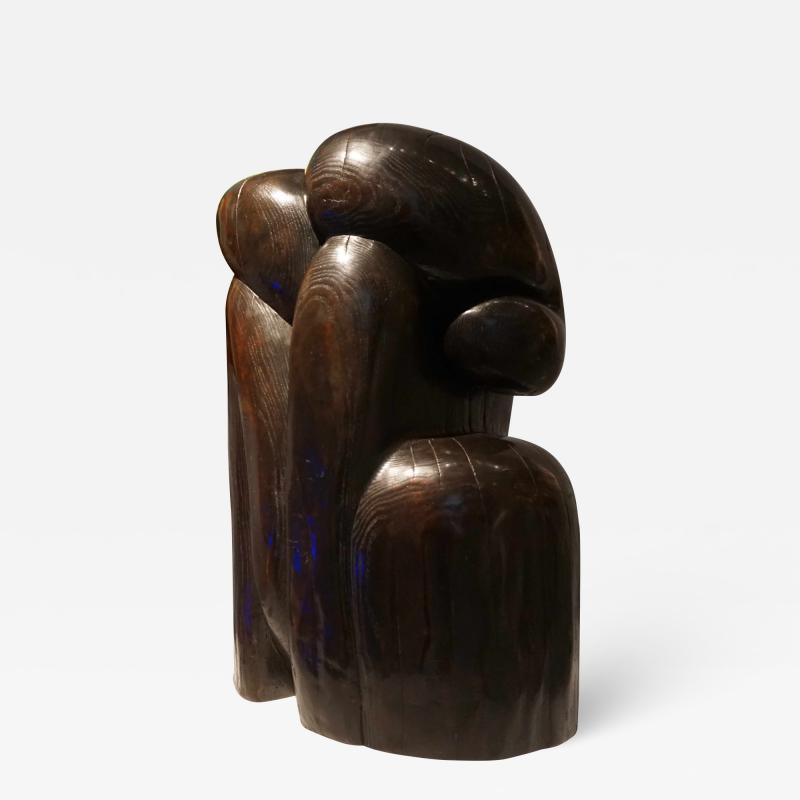Keping Wang Bronze sculpture by Wang Keping Couple