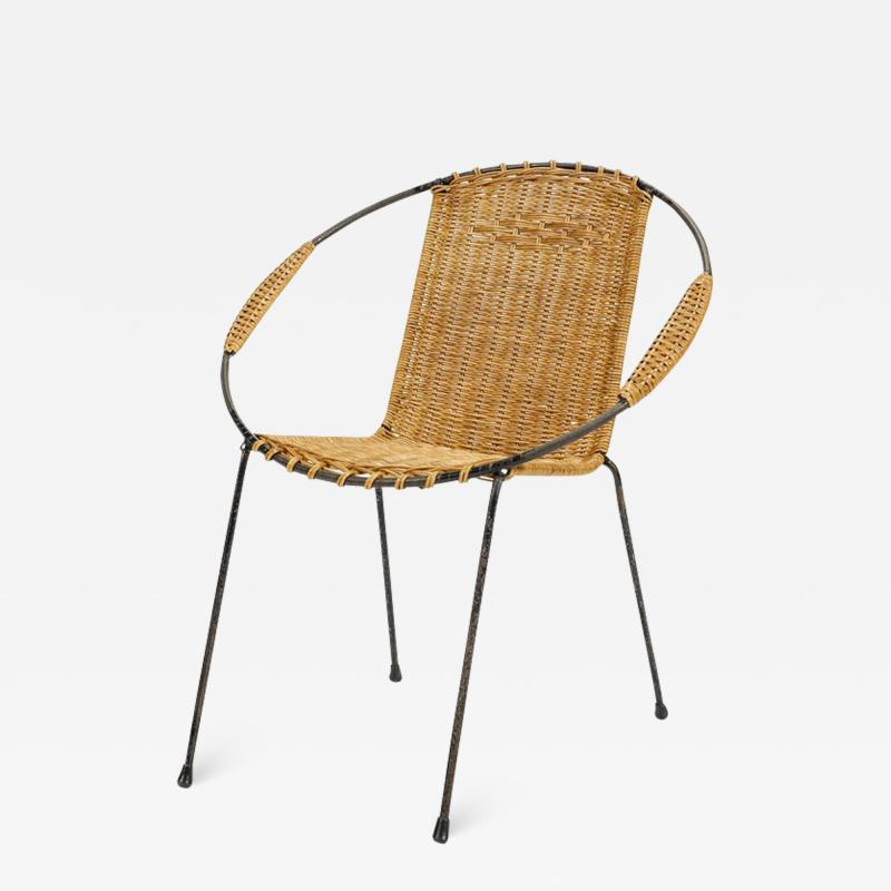 Kids Circle Chair France 50s