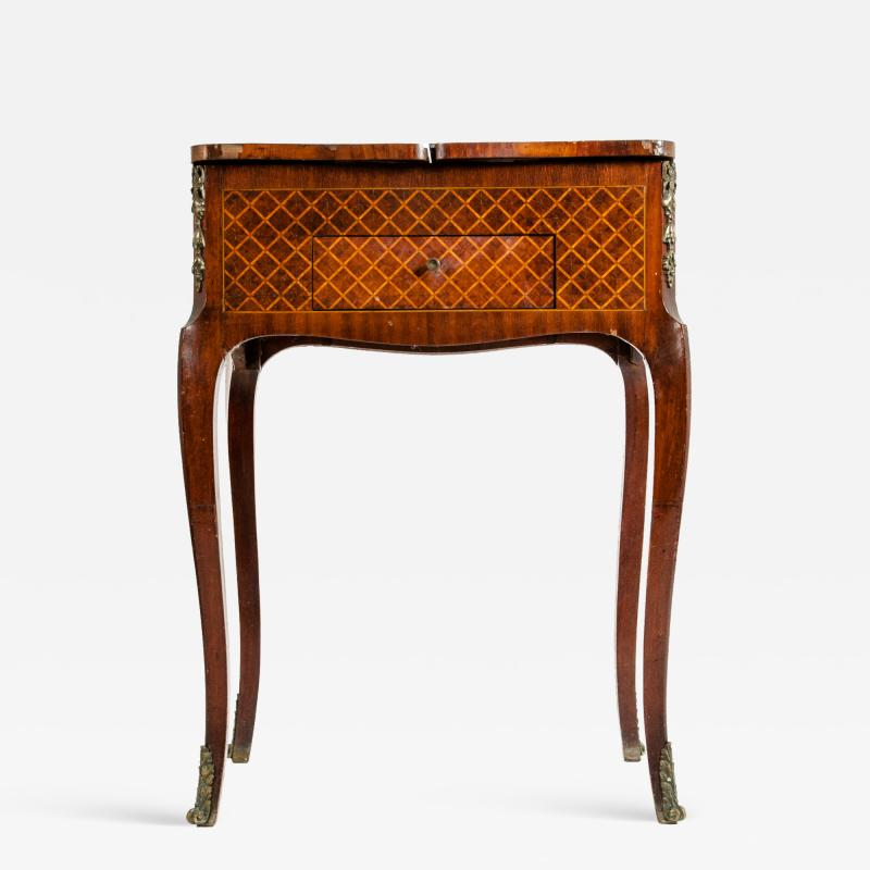 Kingwood Marquetry Vanity Table