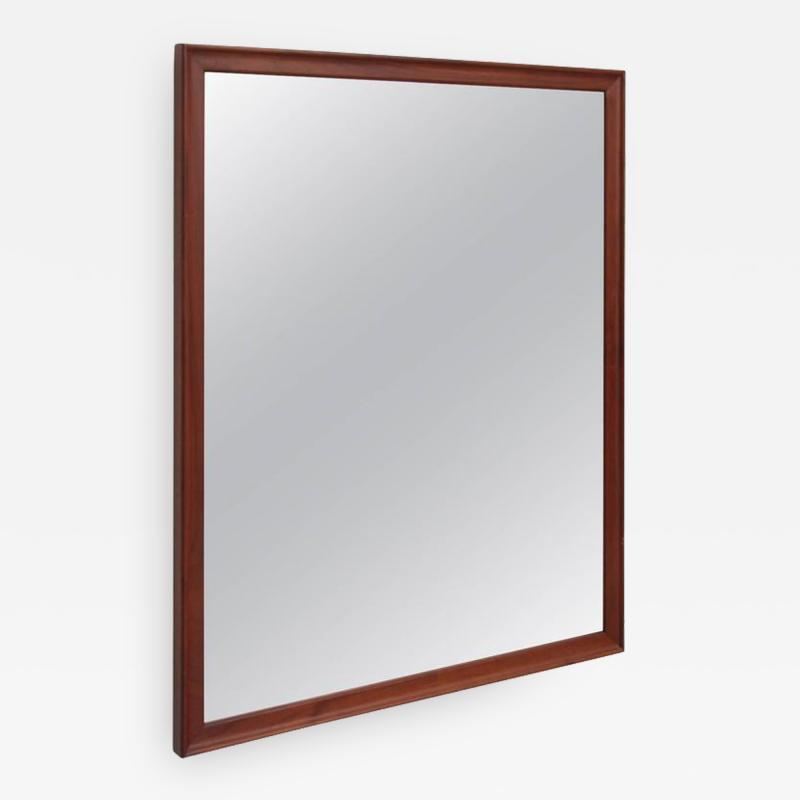 Kipp Stewart Kipp Stewart Wall Mirror in Solid Walnut by Drexel USA 1950s