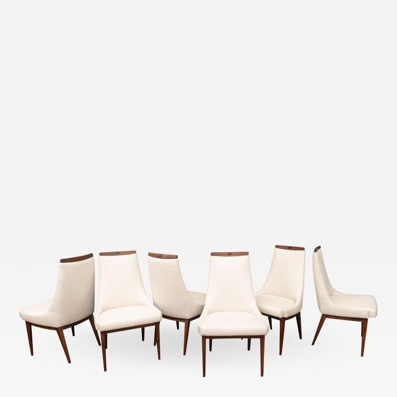 Kipp Stewart Mid Century Modern Dining Chairs by Kipp Stewart