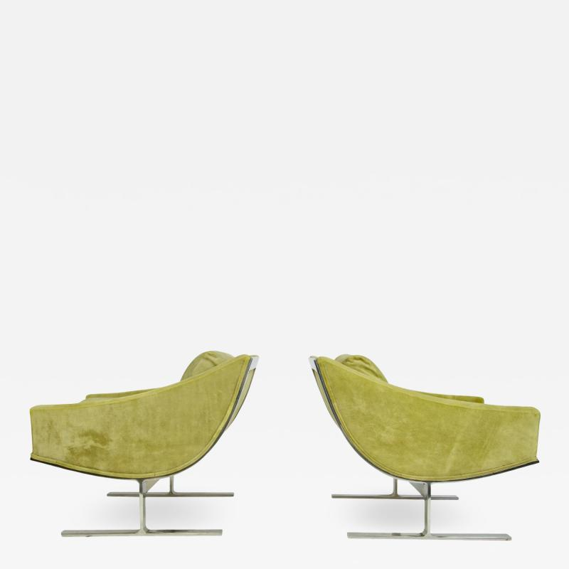 Kipp Stewart Pair of Kipp Stewart Lounge Chairs