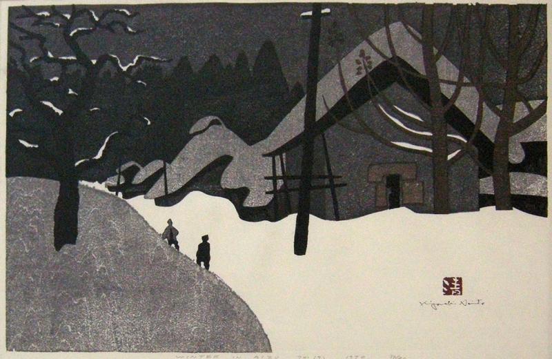 Kiyoshi Saito Kiyoshi Saito Winter In Aizu 9 70 34 80 1970