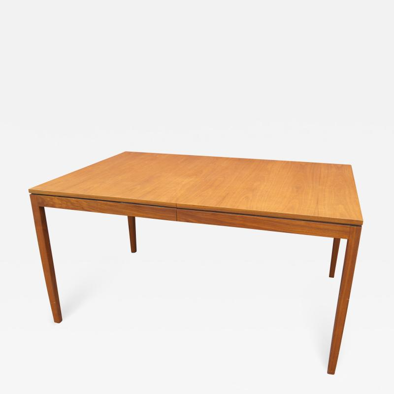 Knoll Associates Walnut Extension Table by Florence Knoll for Knoll Associates