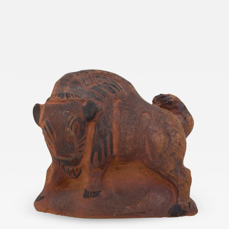 Knud Kyhn Unique Pottery Figure