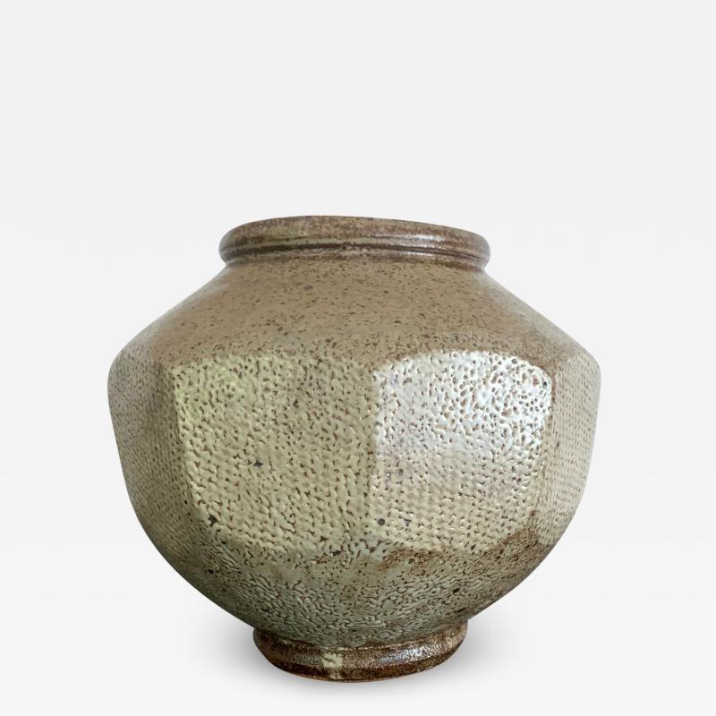 Korean Ceramic Jar Buncheong Ware Joseon Dynasty