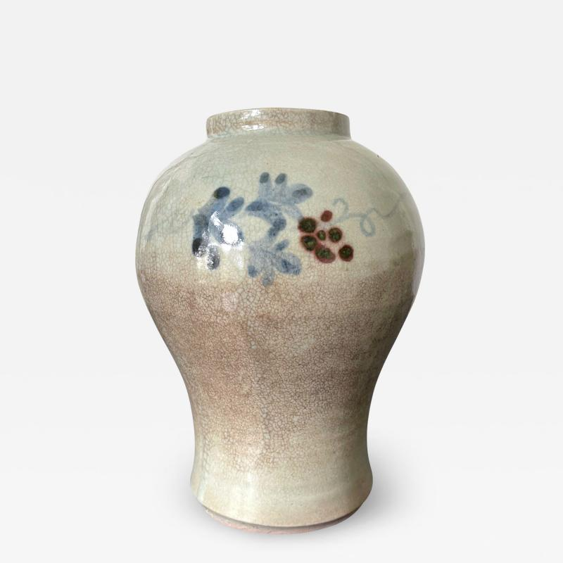 Korean Ceramic Storage Jar Joseon Dynasty