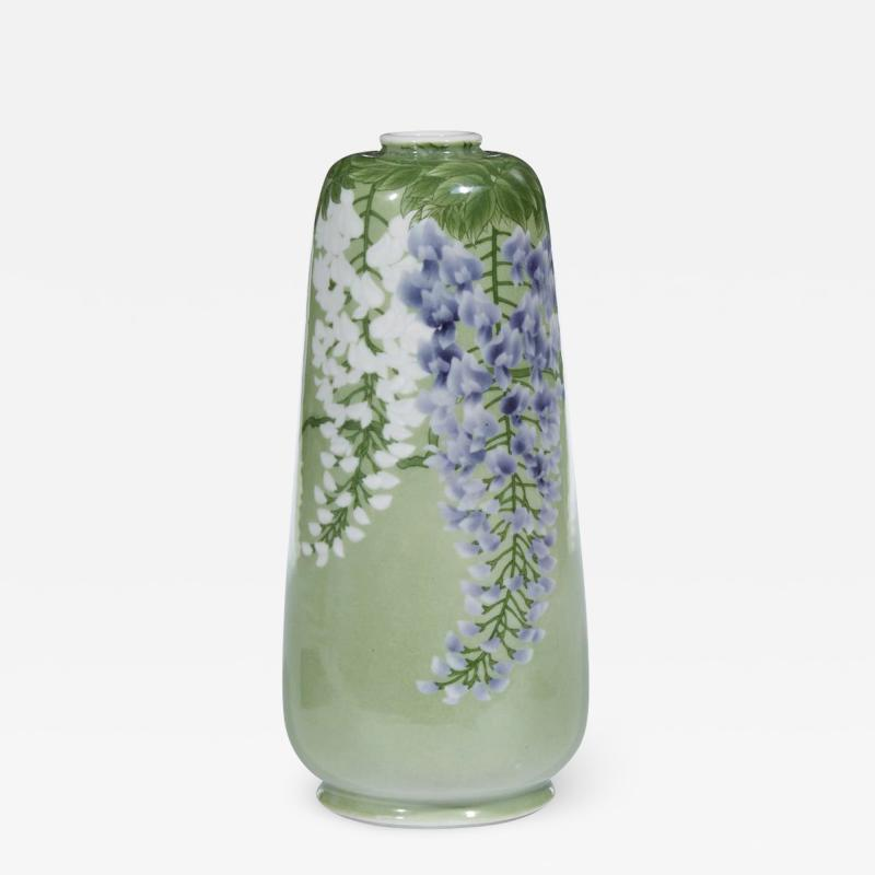 Kozan Makuzu A Japanese Porcelain Vase by Makuzu Kozan Meiji Era