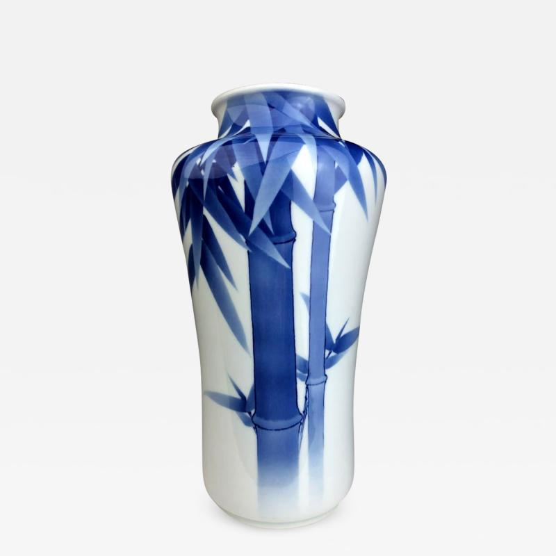 Kozan Makuzu Japanese Porcelain Vase Makuzu Kozan Meiji Period