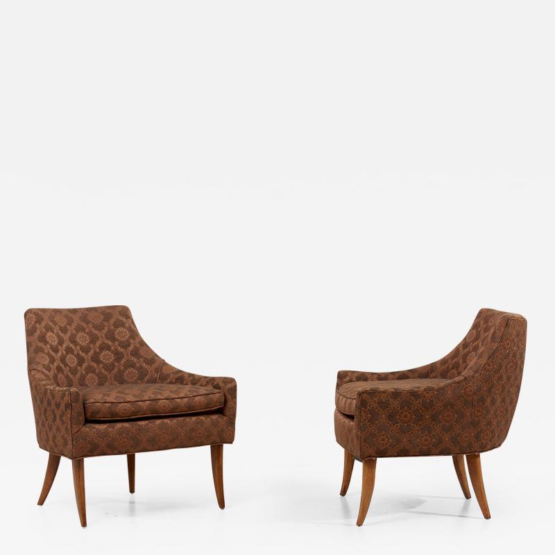 Kroehler Mfg Co Pair of Kroehler Avant Lounge Chairs in Original Condition USA 1960s