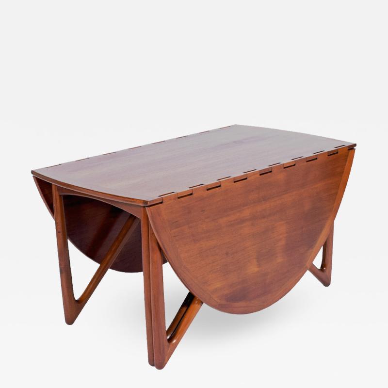 Kurt Ostervig Kurt stervig teak drop leaf table
