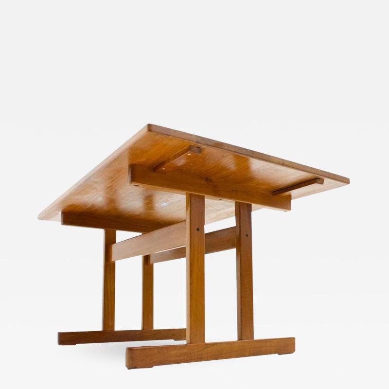 Kurt Ostervig Teak Dining Table by KP Mobler 1960s