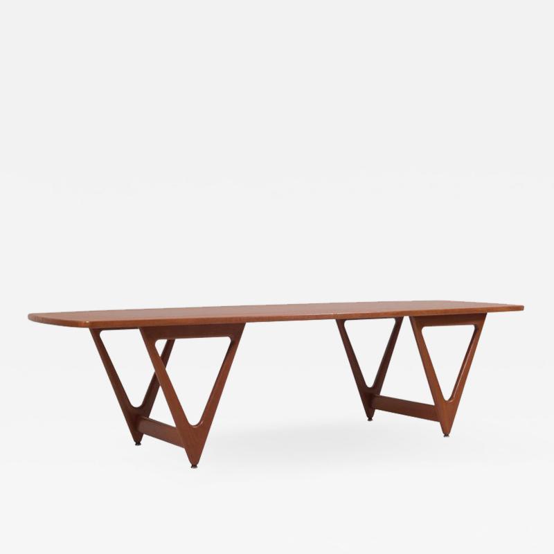 Kurt stervig 1950s Surfboard Coffee Table by Kurt stervig for Jason M bler Denmark