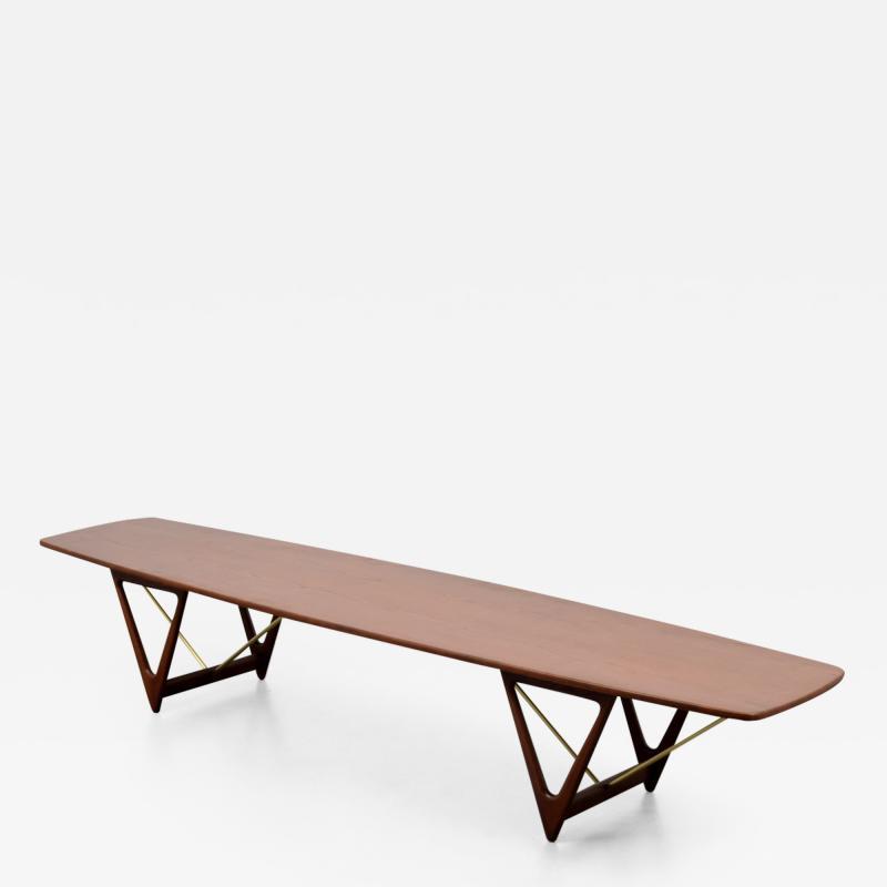 Kurt stervig Long Kurt Ostervig Coffee Table