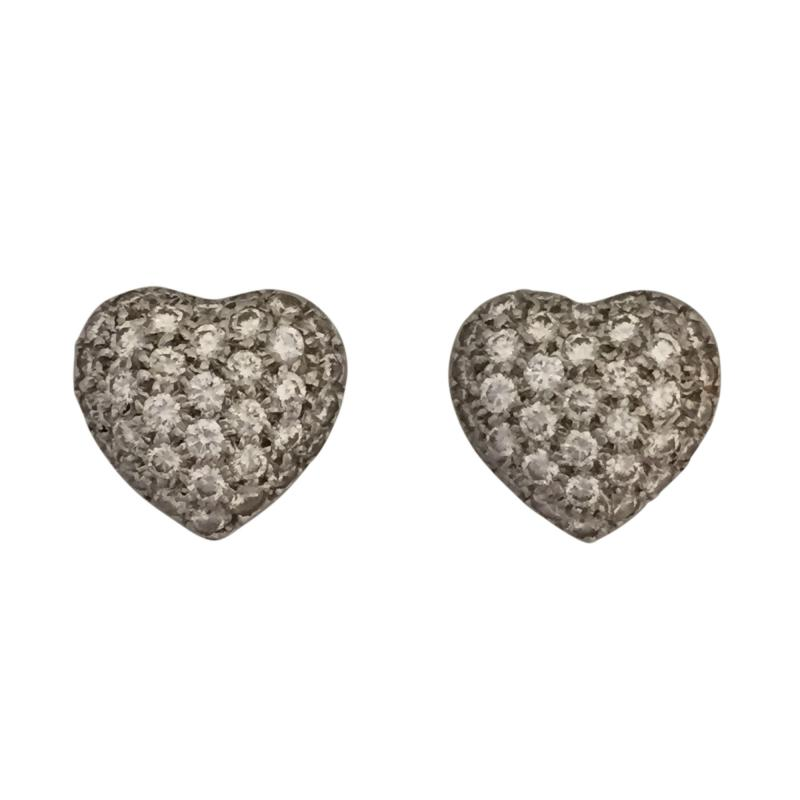 Kwiat Diamond Heart Earrings