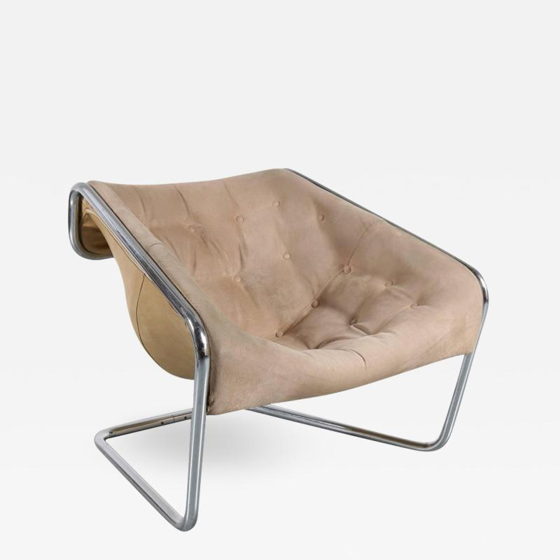 Kwok Ho Chan Kwok Hoi Chan Boxer Chair for Steiner France 1971