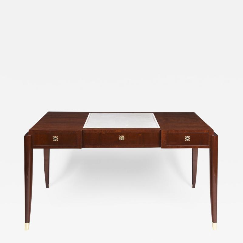 L on Jallot Handsome Writing Desk Attributed to Leon Jallot