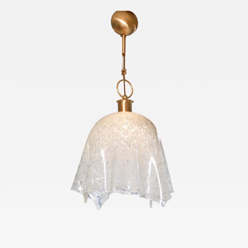 La Murrina 1960s Italian Murano glass handkerchief chandelier by La Murrina