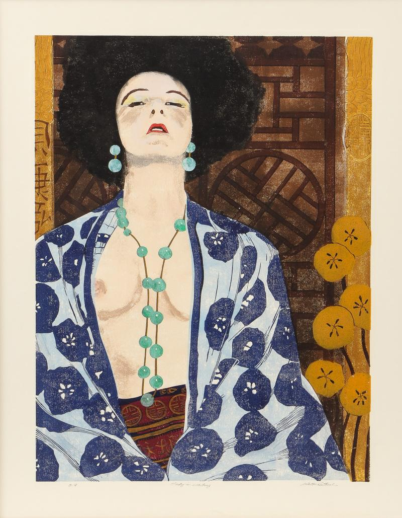 Lady in Waiting print by Walter Buttrick