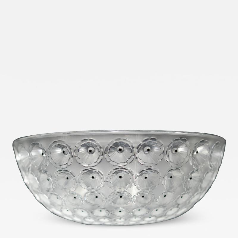 Lalique Lalique Nemours Bowl C 1980
