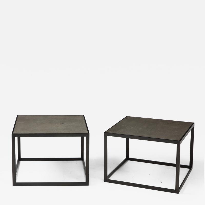 Lance Thompson Thin Table Custom Made to Order Coffee Side Tables
