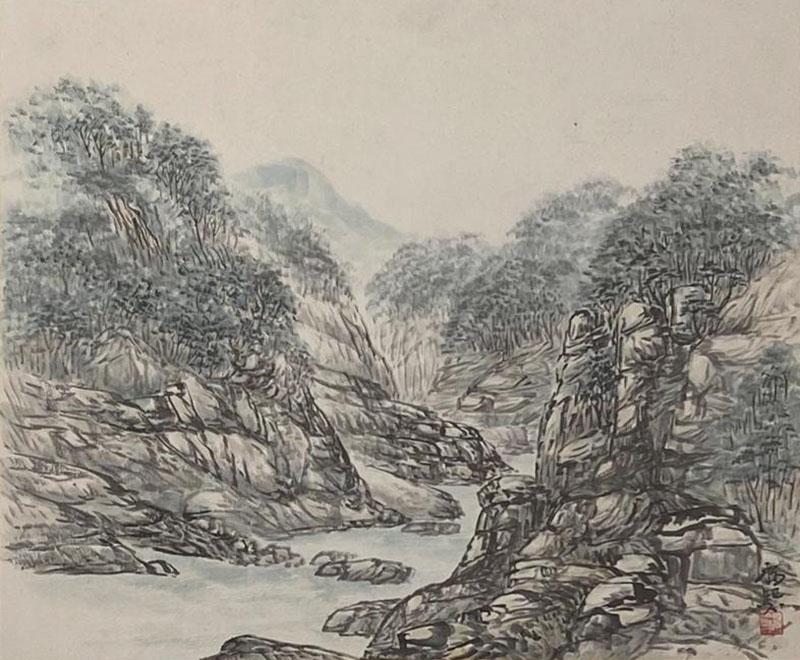 Landscape Korea Circa 1950