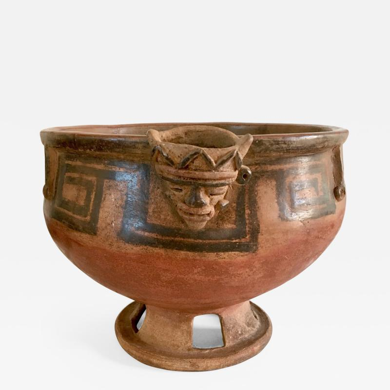 Large Costa Rican Glazed Offering Bowl c 450 200 BCE