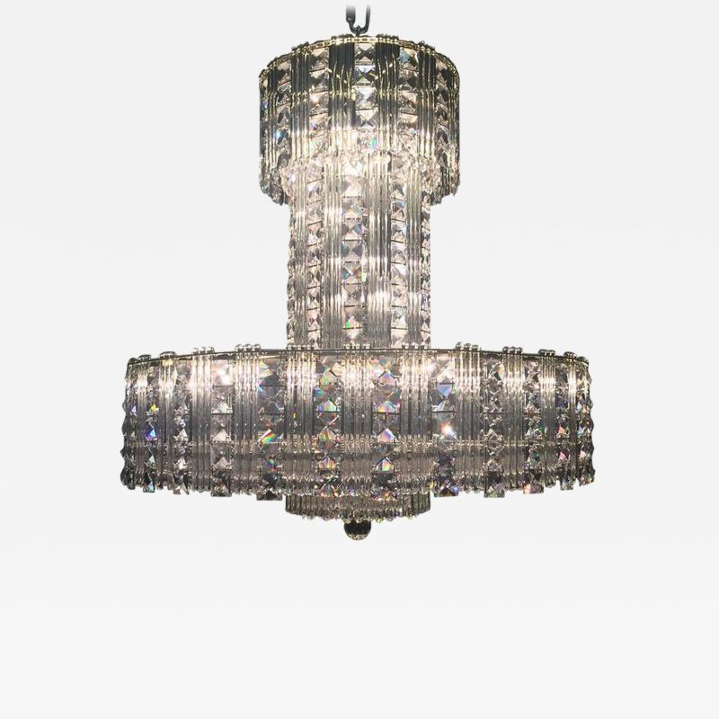 Large Crystal Chandelier
