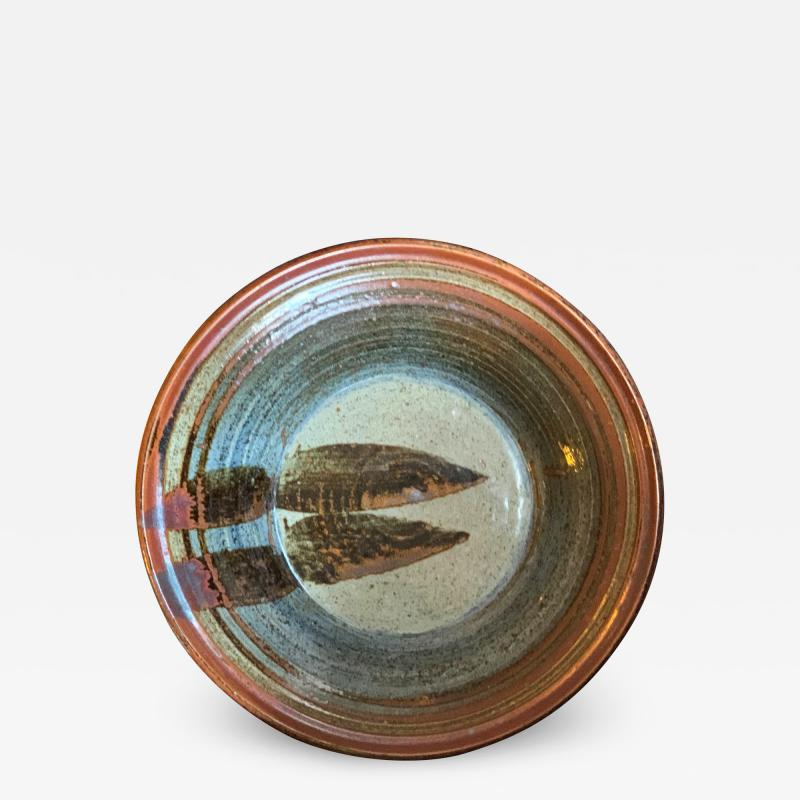Large Danish Hand Crafted Bowl Platter