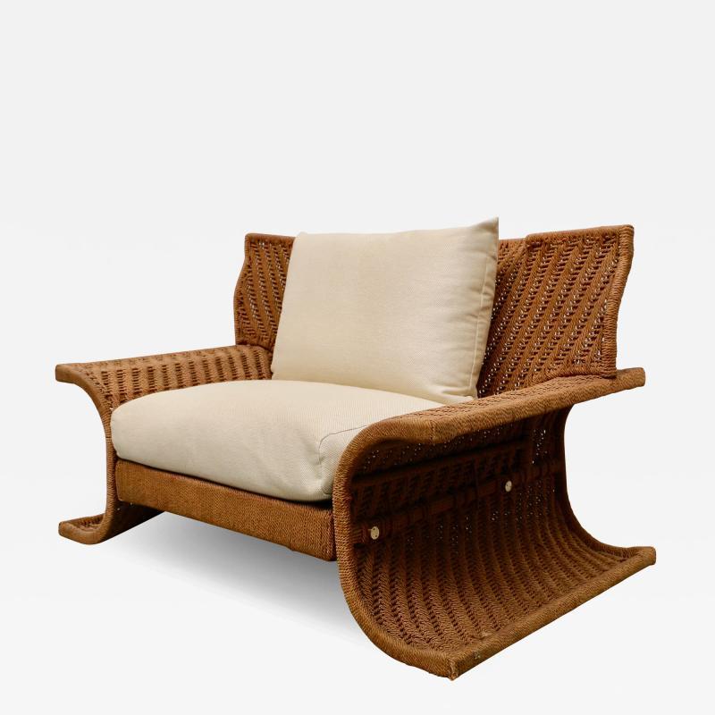 Large Italian armchair 70s