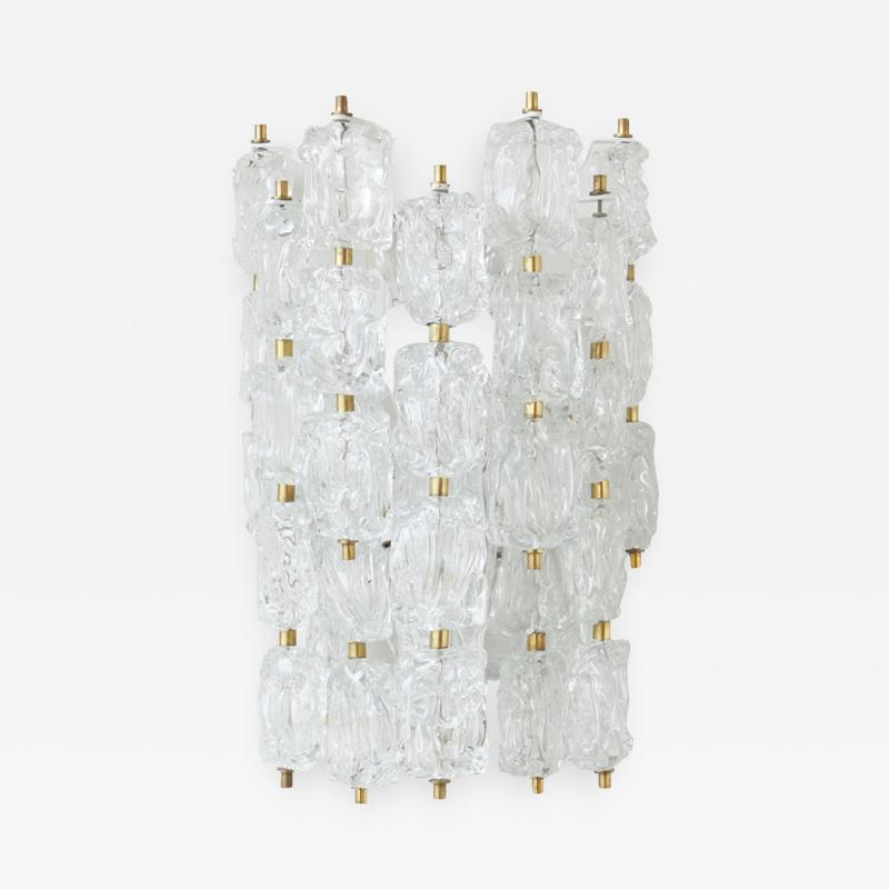Large Murano Glass Wall Sconce