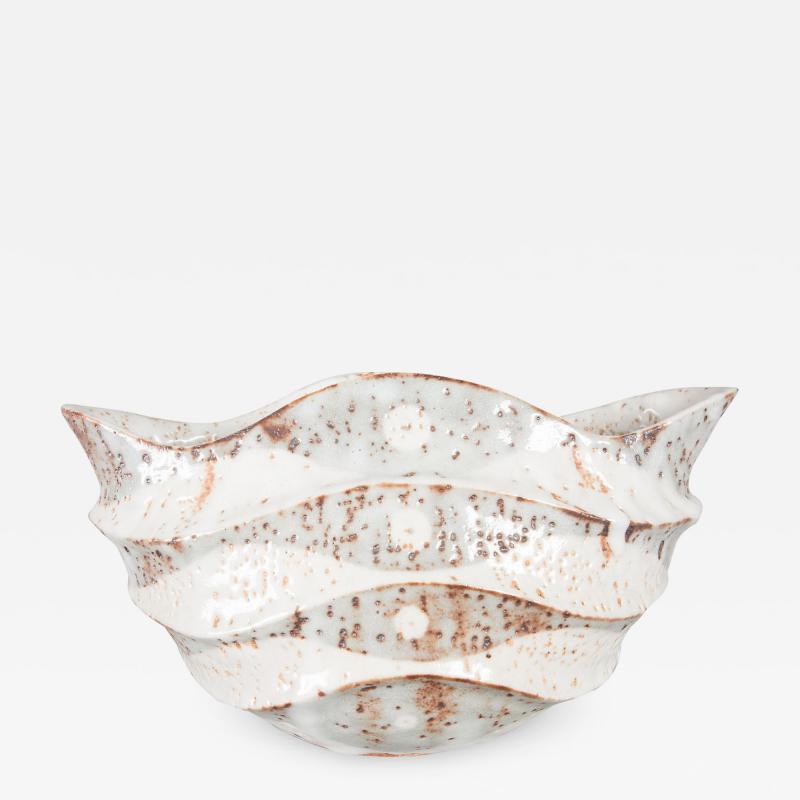 Large Shino ware Vase