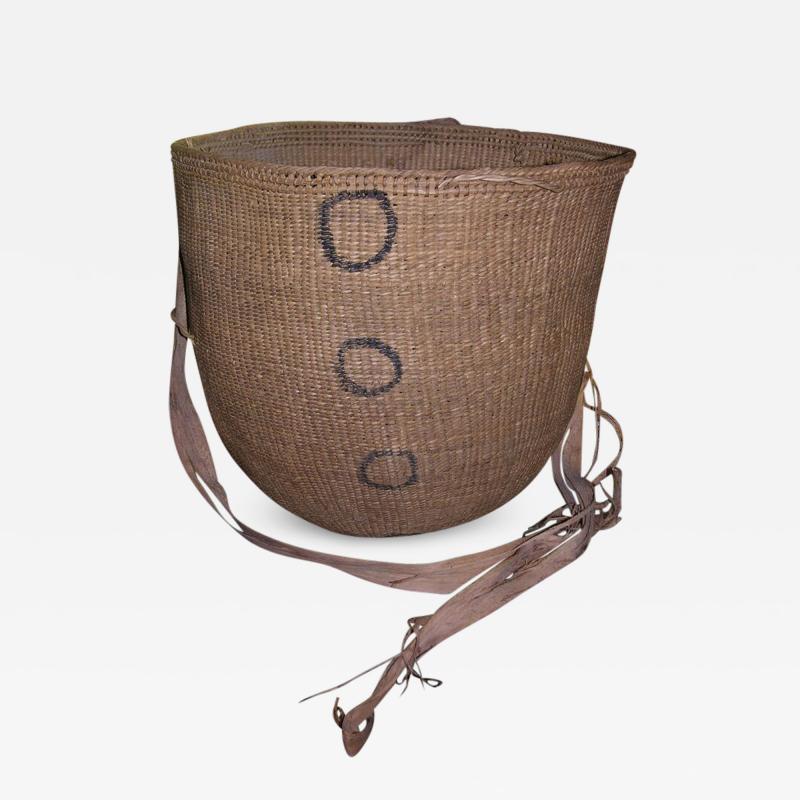 Large Vintage Burden Gathering Basket Yanomami