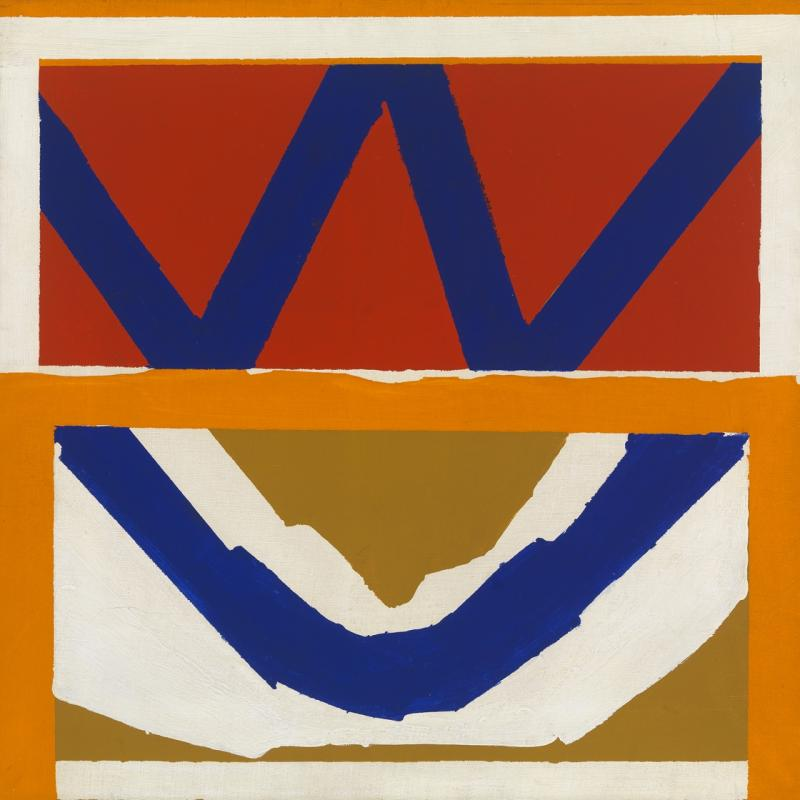 Larry Zox Untitled 1963