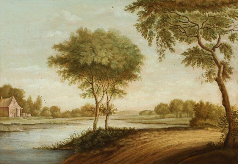 Late 18th Century Danish Landscape