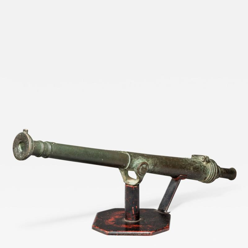 Late 18th century Lantaka bronze cannon barrel