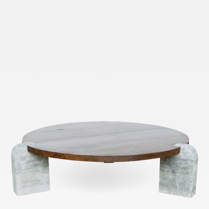 Lawton Mull Circular Monument Table by Lawton Mull