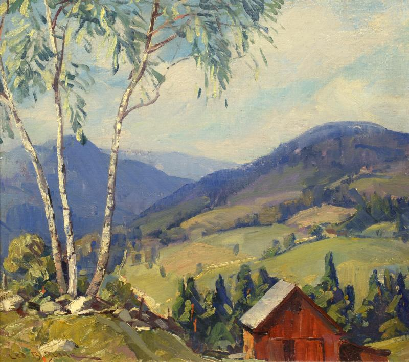 Leo B Blake Summer in Vermont