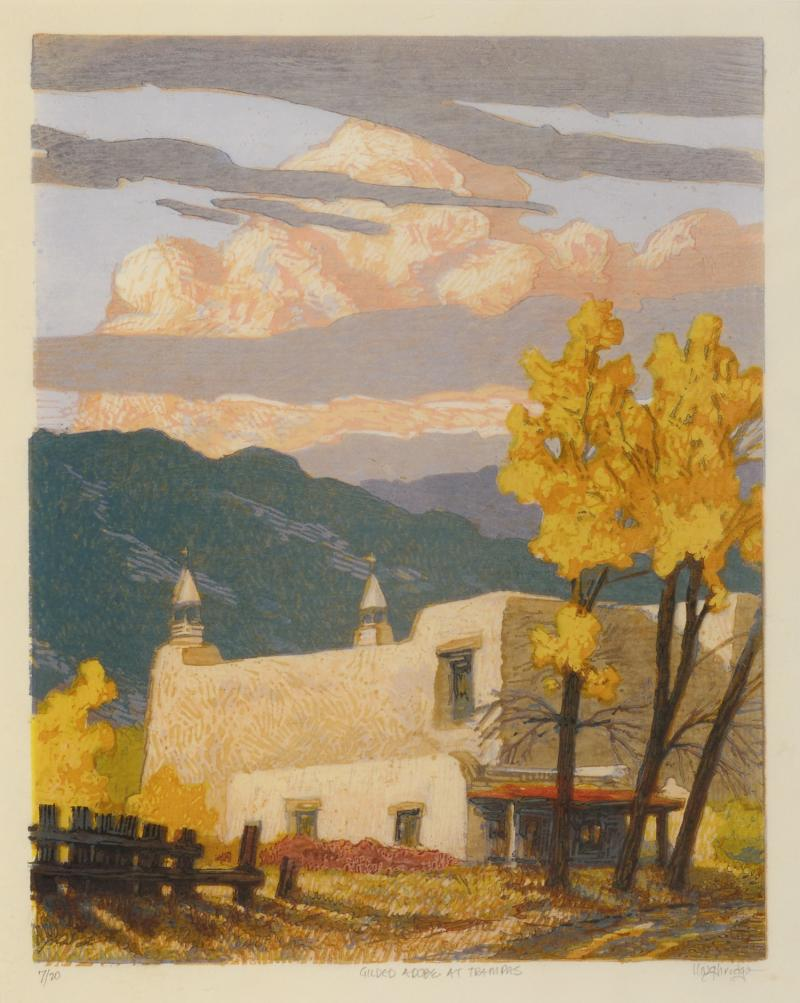 Leon Loughridge Gilded Adobe at Trampas