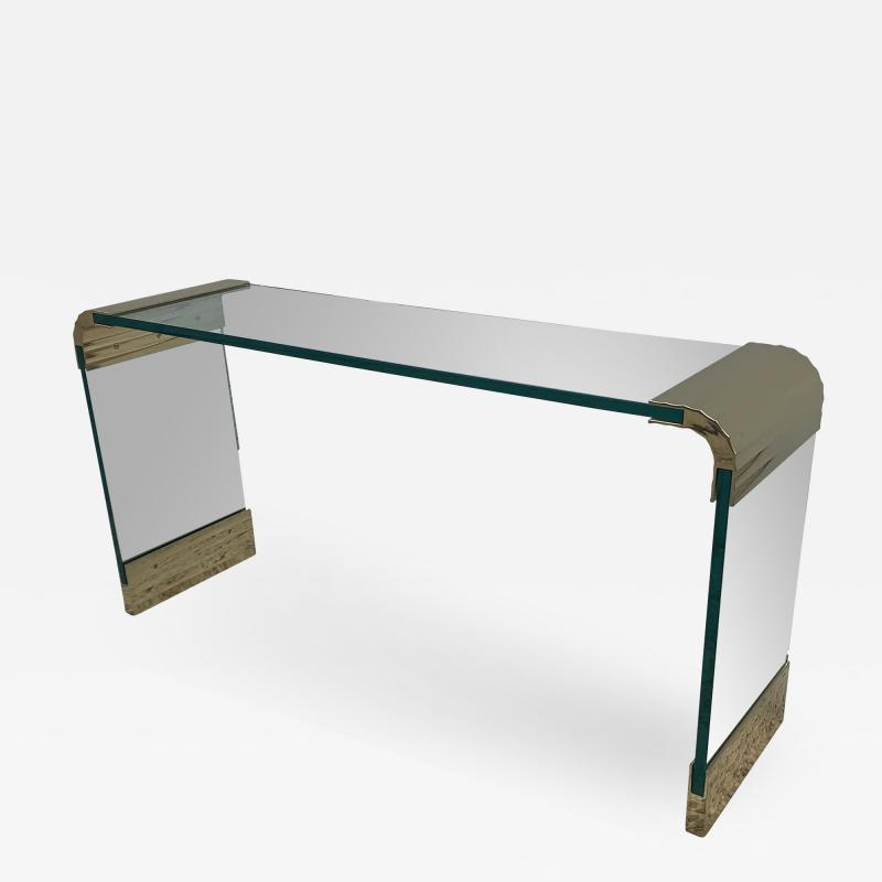 Leon Rosen For Pace Waterfall Console
