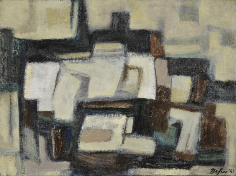 Leonard L Nelson Oil on Canvas by Leonard Nelson