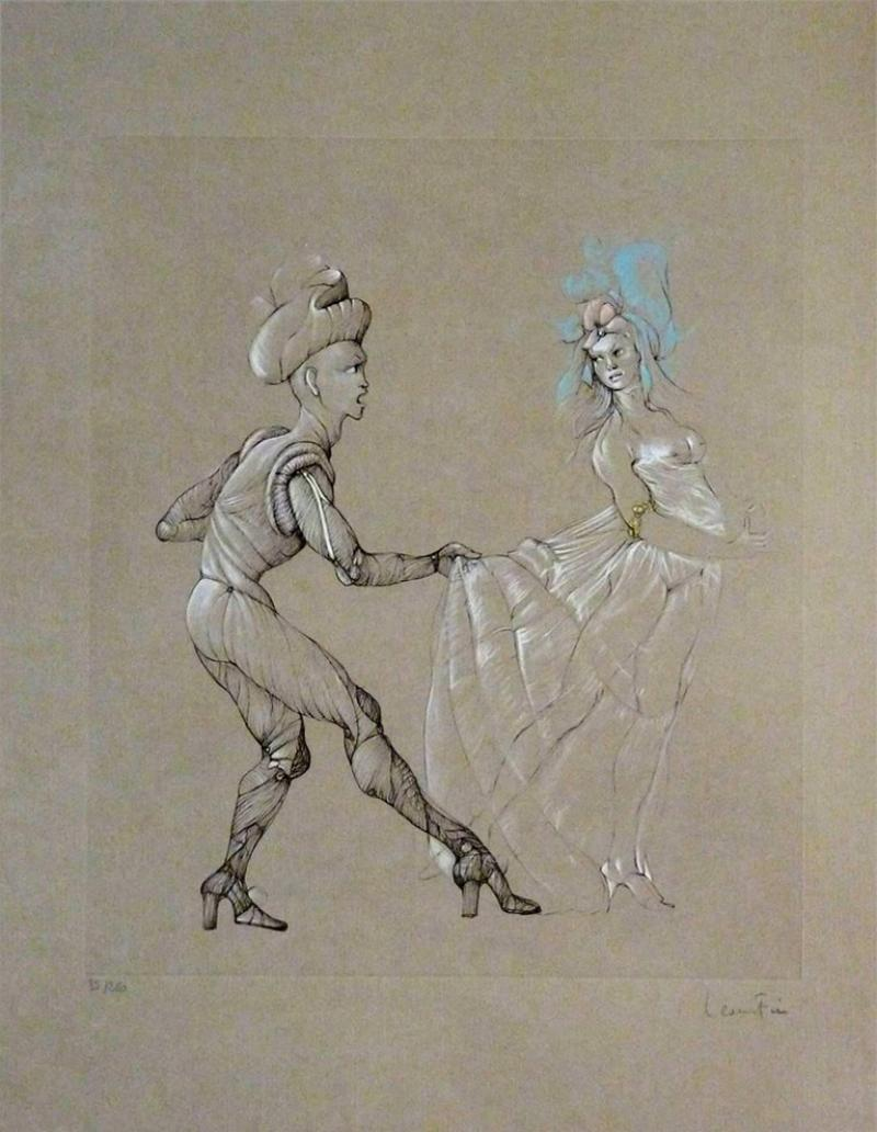 Leonor Fini Leonor Fini Women Original Signed and Numbered Engraving 1960s
