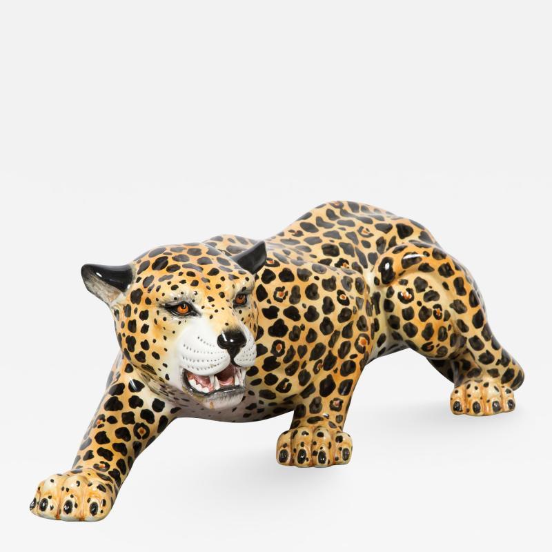 Leopard on the Prowl Italian 20th Century