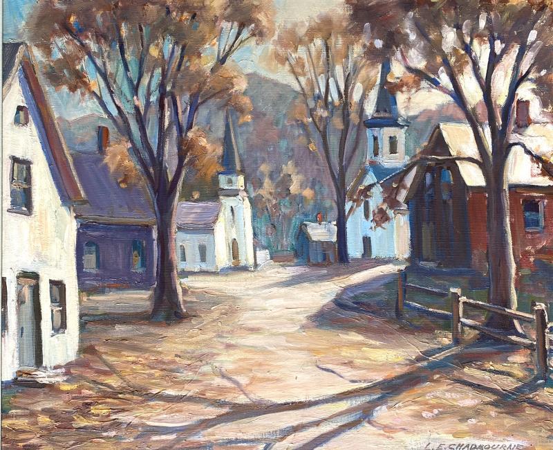 Lester E Chadbourne Churches New England