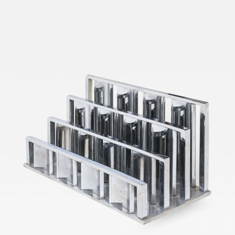 Letter rack by Jacques Adnet