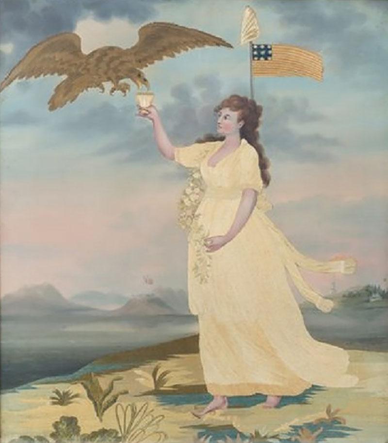 Liberty Needlework Picture