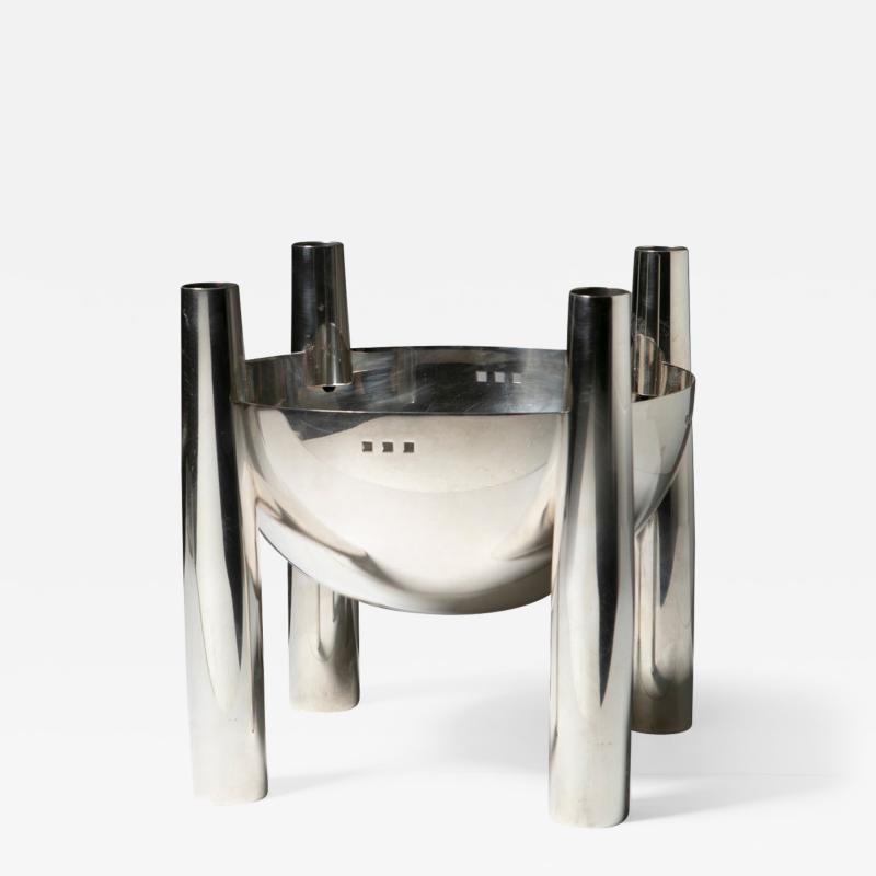 Lino Sabattini Willow Bowl by C R Mackintosh for Sabattini